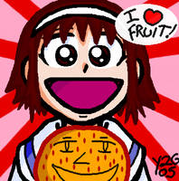 Suzy Loves Fruit by Yuji28Go
