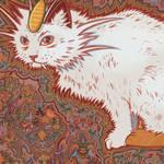 52 - Meowth - Louis Wain by Julia-Alison