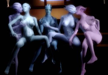 Haxxer's Nude Asari Release For Gmod by Rastifan