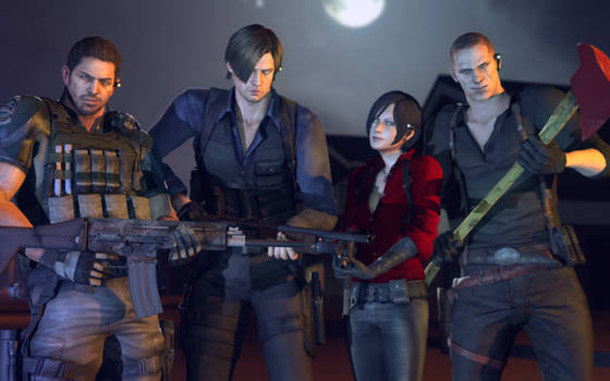 Ada, Chris, Jake And Leon Release For GMod by Rastifan
