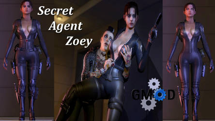 Evil Ash's Agent Zoey Port For GMod by Rastifan