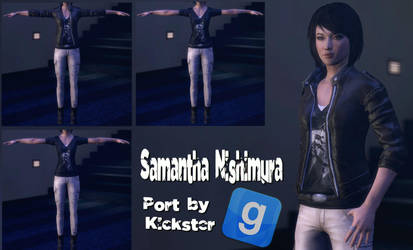 Dressed Samantha Nishimura For GMod by Rastifan