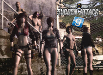 Sudden Attack 2 Girls For GMod by Rastifan