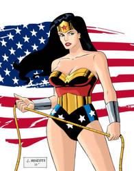 Wonder Woman by wardogs101