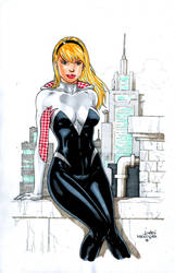 Spider-Gwen by wardogs101