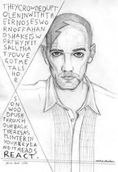 Michael Stipe by PhoenixSparrow