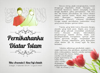 My Wedding's Booklet Cover by Wilpan