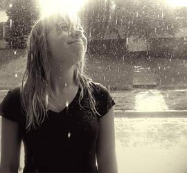 It's Raining. by musicangel071