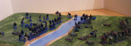 River Battle - Panoramic by Were-Owl