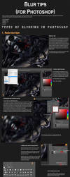 Tips for various blur filters (Photoshop) by Autlaw