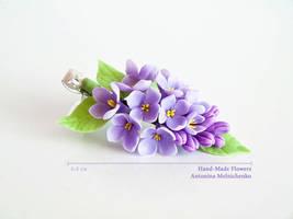 Barrette - Lilac by SaisonRomantique