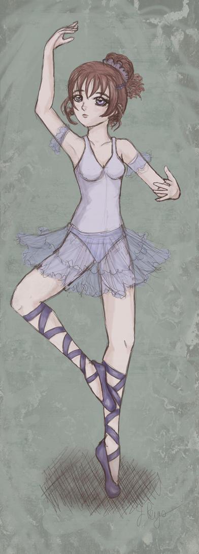 Ballerina 1 by Jenichan