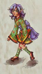 Little Aarelyn by Jenichan