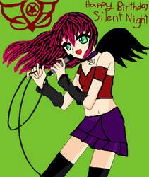 Happy Birthday Silent Night by DarkMary94
