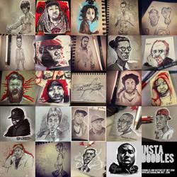 Insta-doodles by Joey-Zero