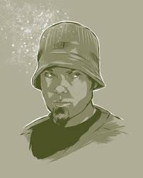 DJ Shadow by Joey-Zero