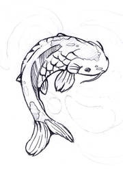 Koi Pencils by Joey-Zero