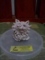 Seam sculpture by Jellazticious