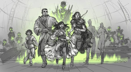 Brave heroes by Angevere