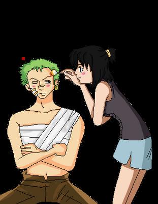 ..:Heba And Zoro .:. let me help you by Heba-Asawa