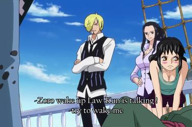 One Piece OC .:. Wake up Zoro .:. by Heba-Asawa