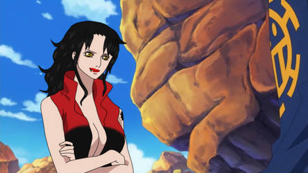 One Piece OC .:. Keira x Law  .:. gift by Heba-Asawa