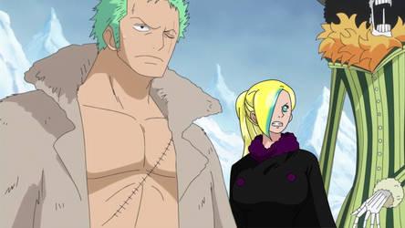 One Piece OC .:.  Ayami x Zoro  .:. by Heba-Asawa