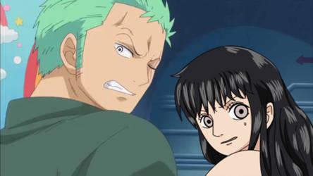 One Piece OC .:. Zoro X Heba .:. =It's Coming ! = by Heba-Asawa