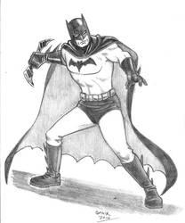 Batman Sketch Commission by Omaik