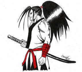 Haohmaru from Samurai Showdown by Omaik