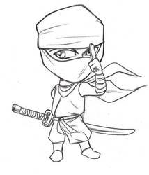 Chibi ninja by Omaik