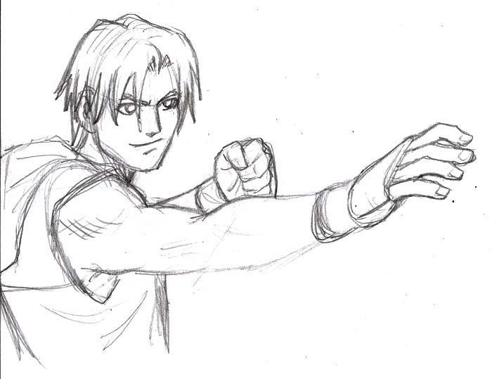 Anime sketch by Omaik