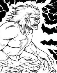 Blanka - Street Fighter 2 by Omaik