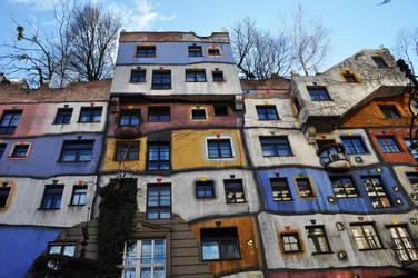 Hundertwasser Hause. by LiLyah