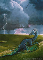 Old Art- Heavy Weather 1996 by jaxxblackfox