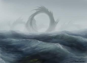 One Big Motha-Sea Serpent by jaxxblackfox