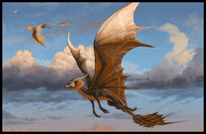 Dusk Gliders by jaxxblackfox