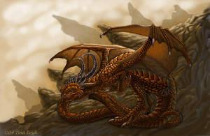 The Earth Dragon by jaxxblackfox