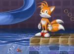 Miles 'Tails' Prower by jaxxblackfox
