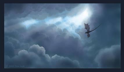 Sea of Clouds by jaxxblackfox