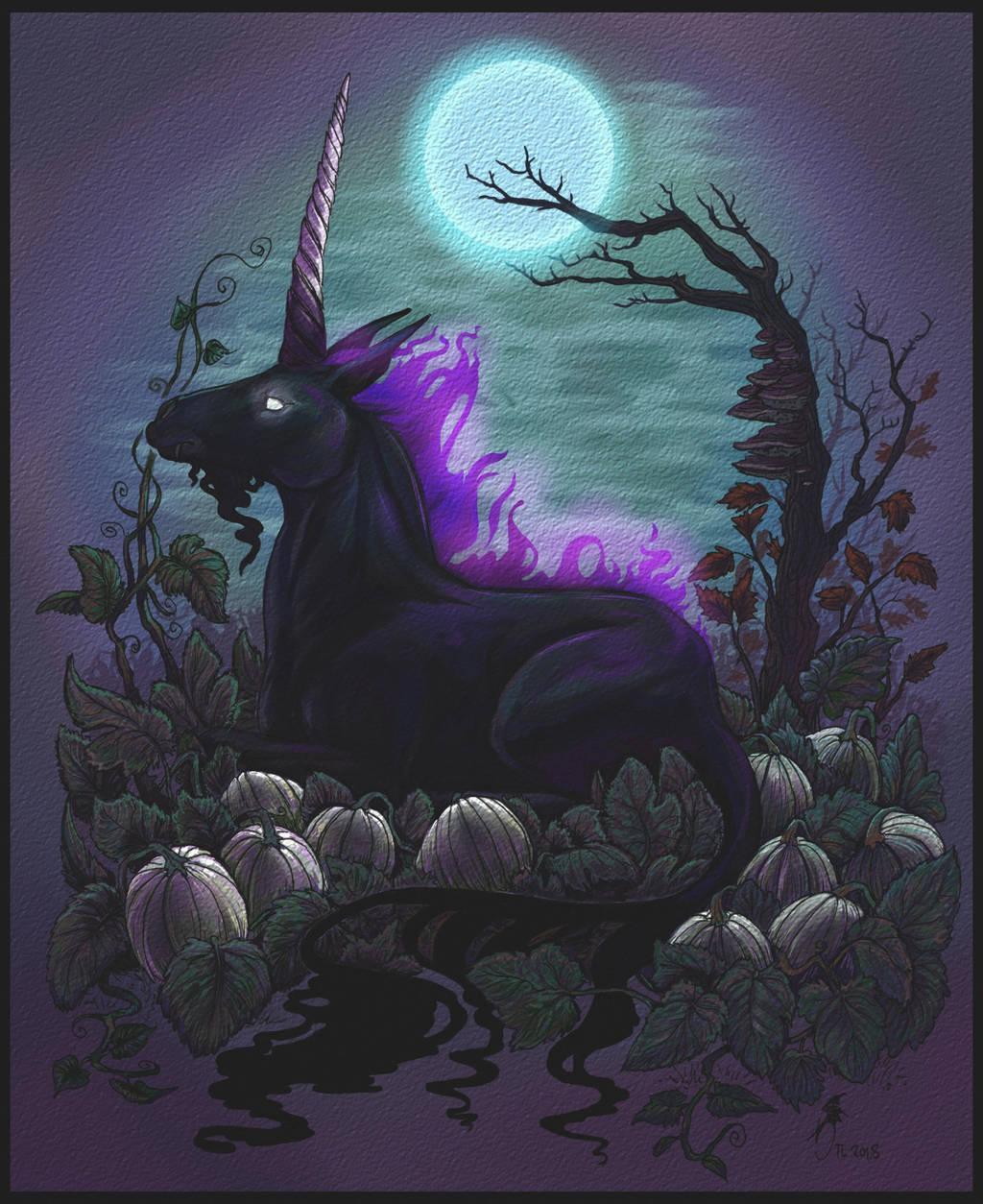 Nightmare's Garden- Halloween 2018 by jaxxblackfox
