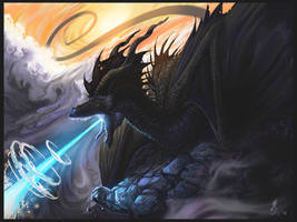 Dragon's Rage by jaxxblackfox