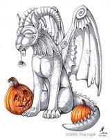 Happy Halloween 2005 by jaxxblackfox