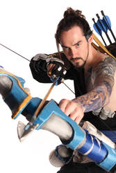 Hanzo Overwatch Cosplay by Tomatron5