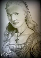 Lucrezia Borgia by TheHopelessDreamer