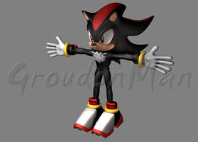 Shadow the Hedgehog by GroudonMan