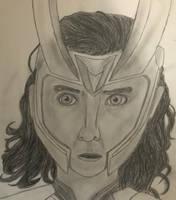 Loki of Asgard by FantasyDragonArt514