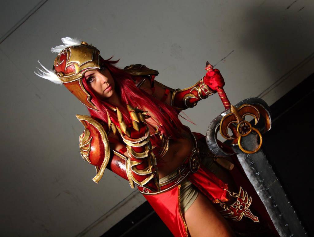League Of Legends Leona Valkyrie Skin By Monakisu Chan On Deviantart
