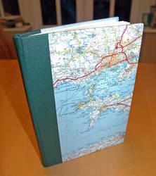 Handmade book 2: maps by purplenoodles