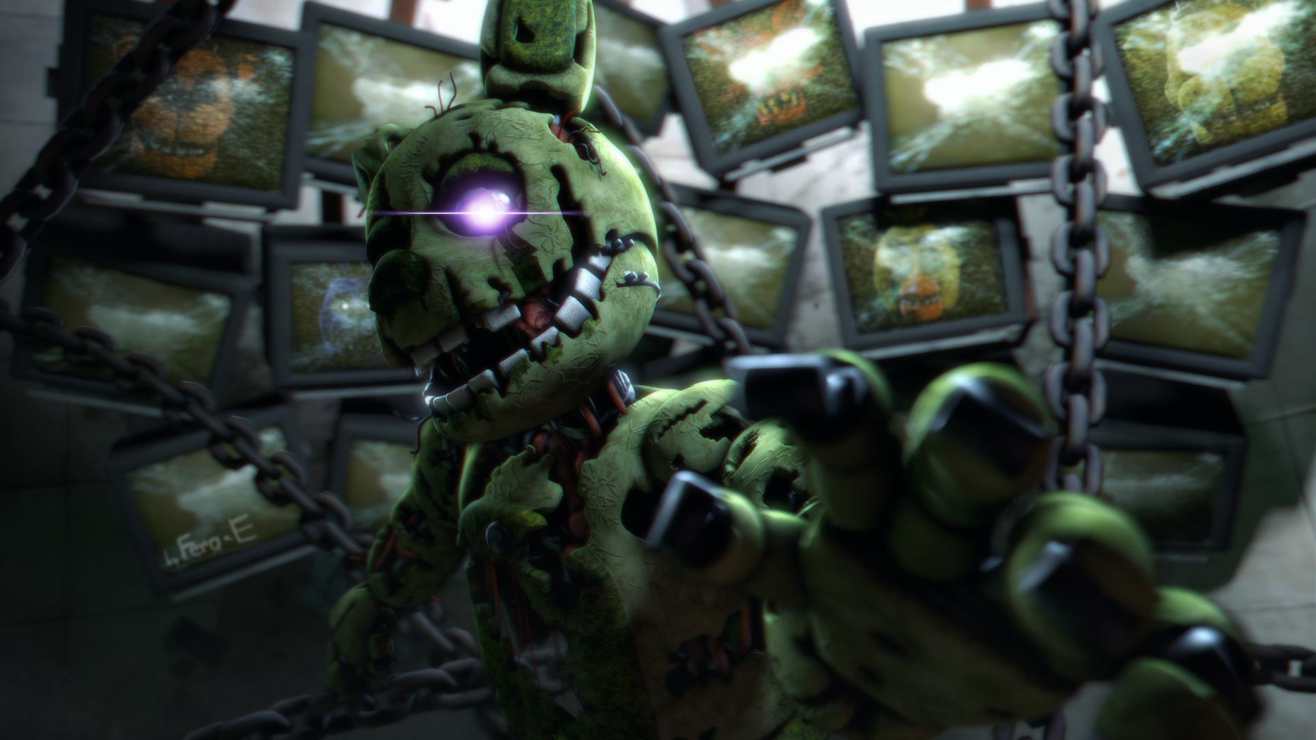 (FNaF SFM) Insanity takes over. by Fer-Ge